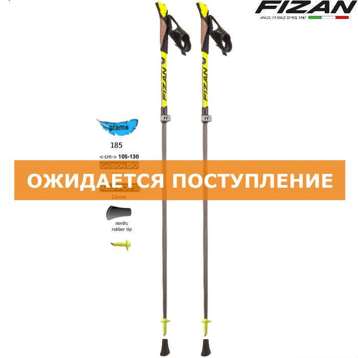 Скандинавские палки Fizan NW Pro Carbon 80 S19 CA07 Италия