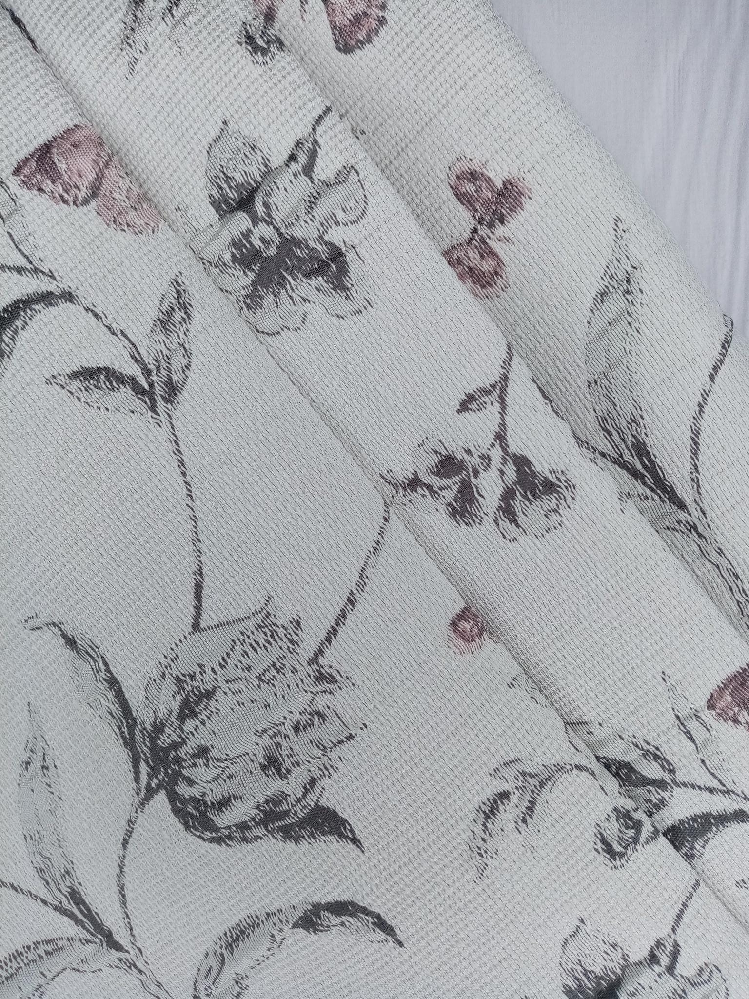 Ткань для портьер гобелен бабочки