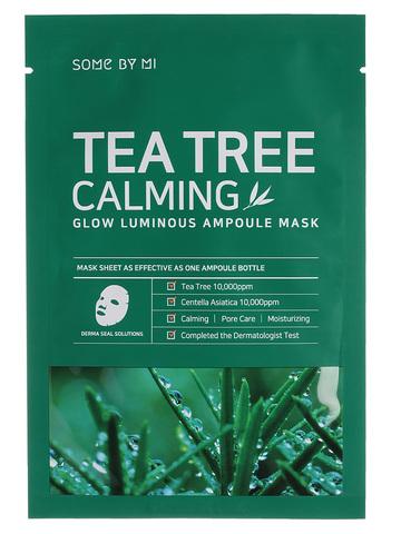 Some By Mi Маска тканевая успокаивающая Tea Tree Calming Glow Luminous Ampoule Mask