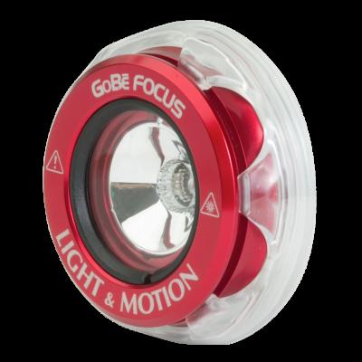 Головка фонаря Light and Motion GoBe Focus красная