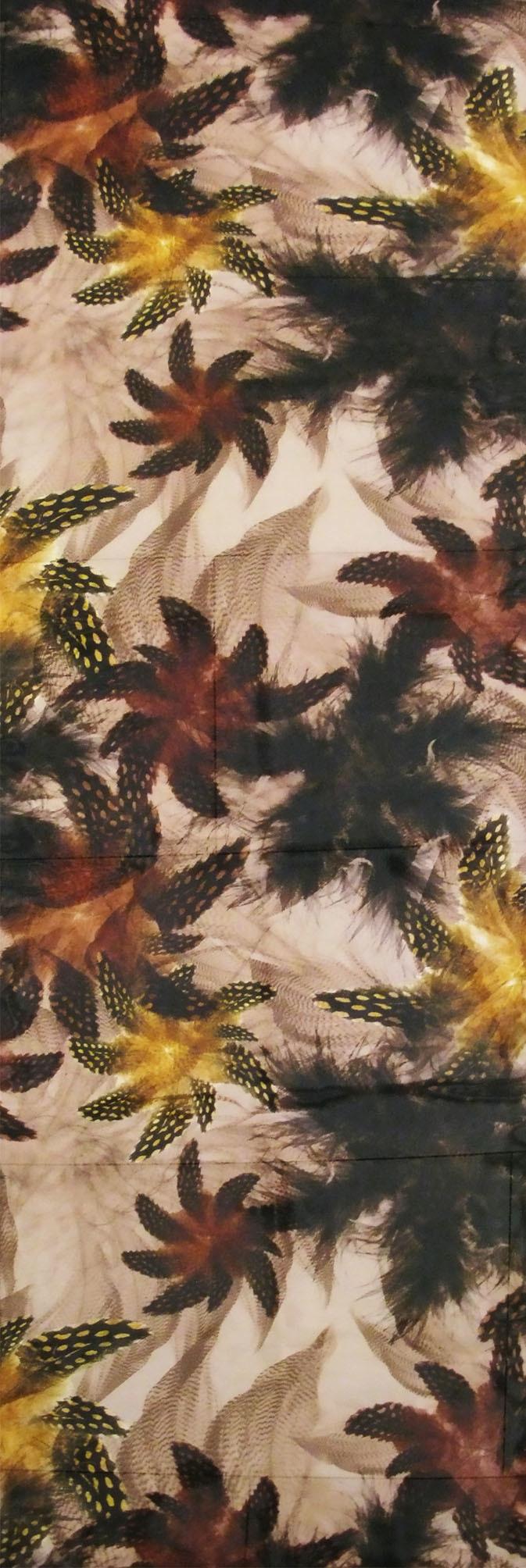 Шарф Ш001-549 - Аксессуар в виде шарфа обязательный элемент элегантного образа. Шарф с цветочным принтом коричневого цвета дополнит ваш наряд и сделает лук элегантным и модным. С помощью шарфа вы можете разнообразить ваш гардероб, подчеркнув вашу женственность и элегантность.