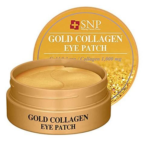 SNP Gold Collagen Eye Patch Гидрогелевые патчи с золотом и коллагеном 60 шт.