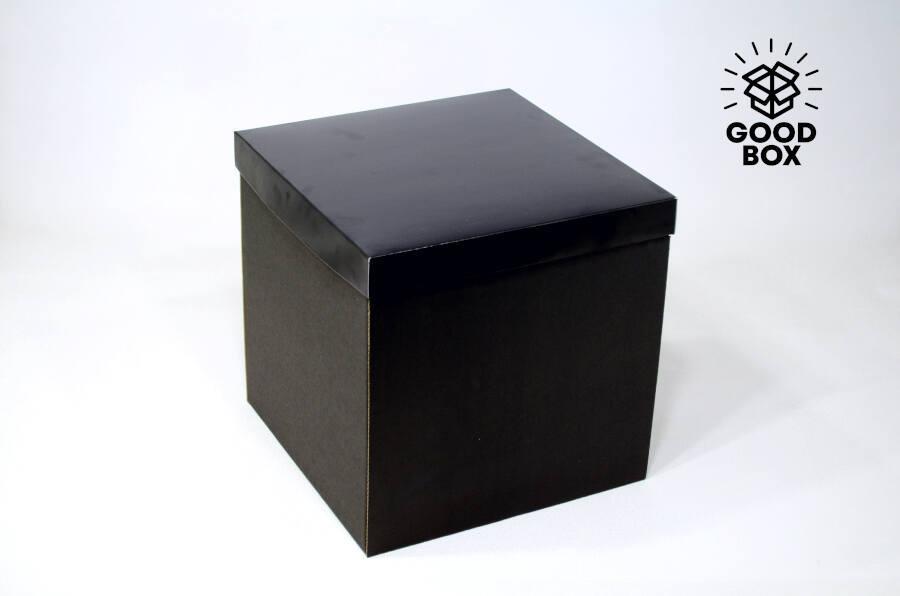 Чисто черная подарочная коробка Казахстан