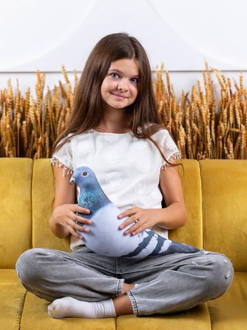 Мягкая игрушка-подушка Gekoko «Сизый Голубь» 4