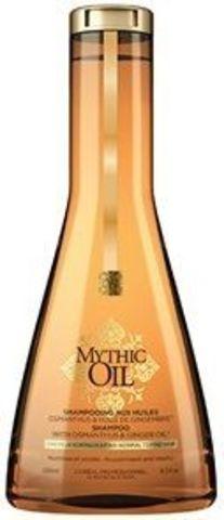 Шампунь для нормальных и тонких волос, Loreal Mythic Oil,250 мл.