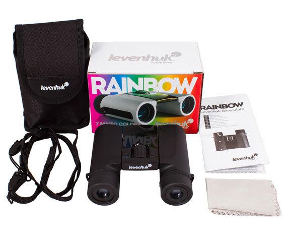 Комплект упаковки бинокля Levenhuk Rainbow 8 25
