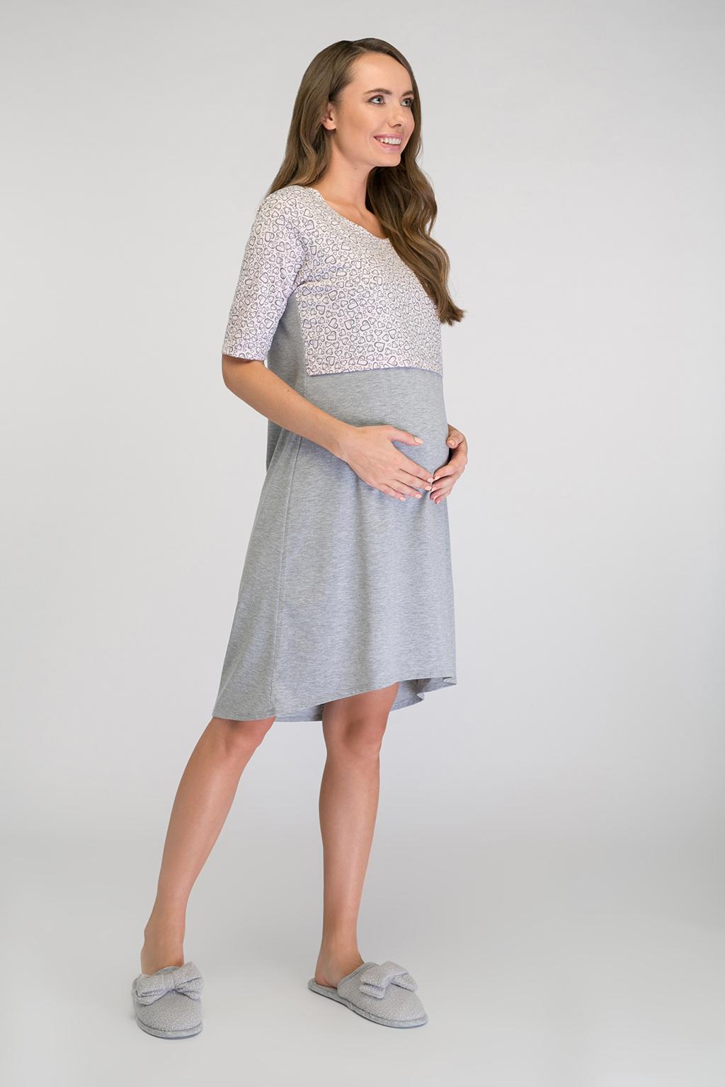 Ночная сорочка для будущих и кормящих мам - Фото 2