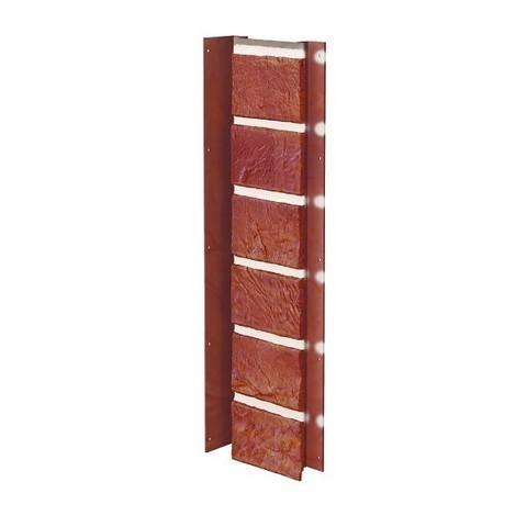 Угол внутренний Vox Solid Brick Bristol кирпич красный