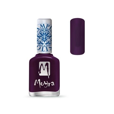 MOYRA Лак для стемпинга 12 мл Фиолетовый SP04