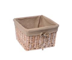 Плетеная корзина для ванной комнаты WasserKRAFT Kammel WB-180-L
