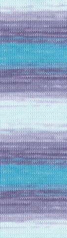 Пряжа Alize Bella Batik 100 цвет 3677