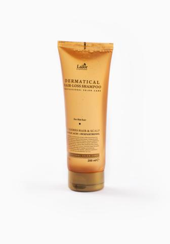 Шампунь против выпадения La'dor Dermatical Hair Loss Shampoo с пантенолом и салициловой кислотой 200 мл