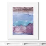 Marina Sturm - Репродукция картины в раме Clouds, view from the plane