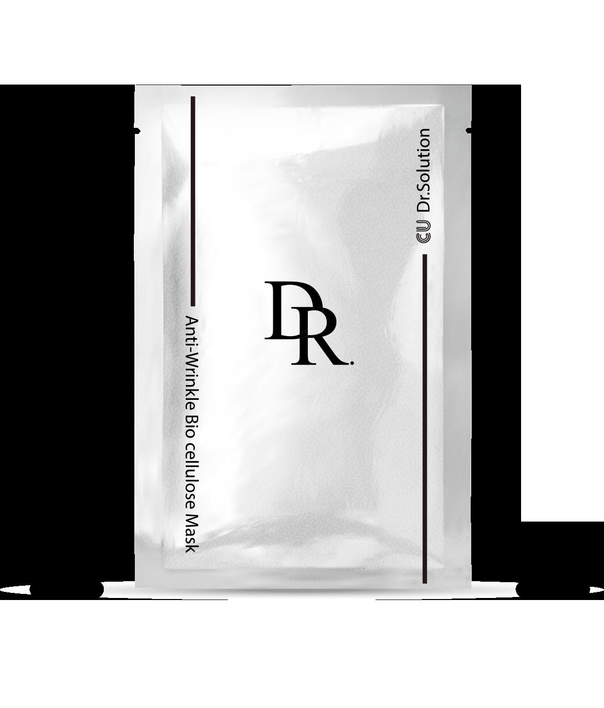 Лифтинг Маска CUSKIN DR. SOLUTION Anti-Wrinkle Bio cellulose Mask