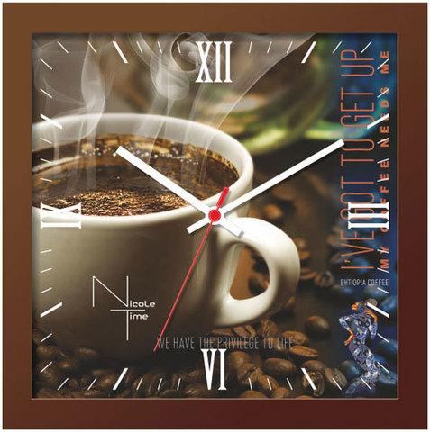 Настенные часы Nicole Time NT656