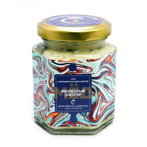 Мёд с эфирными маслами «Жизненный эликсир»