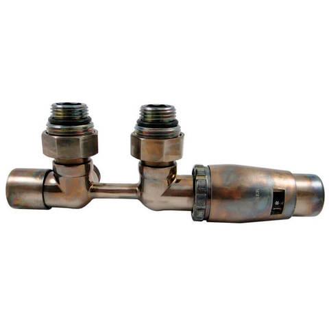 Узел подключения DUO-PLEX MINI прямой, Technoline, головка М30х1,5. 3/4 x М22x1,5 + 2 Ниппеля 1/2x3/4