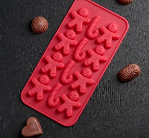 Форма для льда и шоколада «Карамельное чудо»