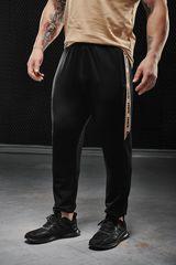 Мужские штаны Olimp Tracksuit Bottom Gold Series Black