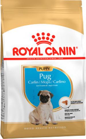 Royal Canin Pug Puppy сухой корм для щенков мопса до 10 месяцев