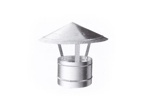 Под заказ Зонтик крышный D 500 мм оцинкованная сталь (ЗАКАЗНОЙ)