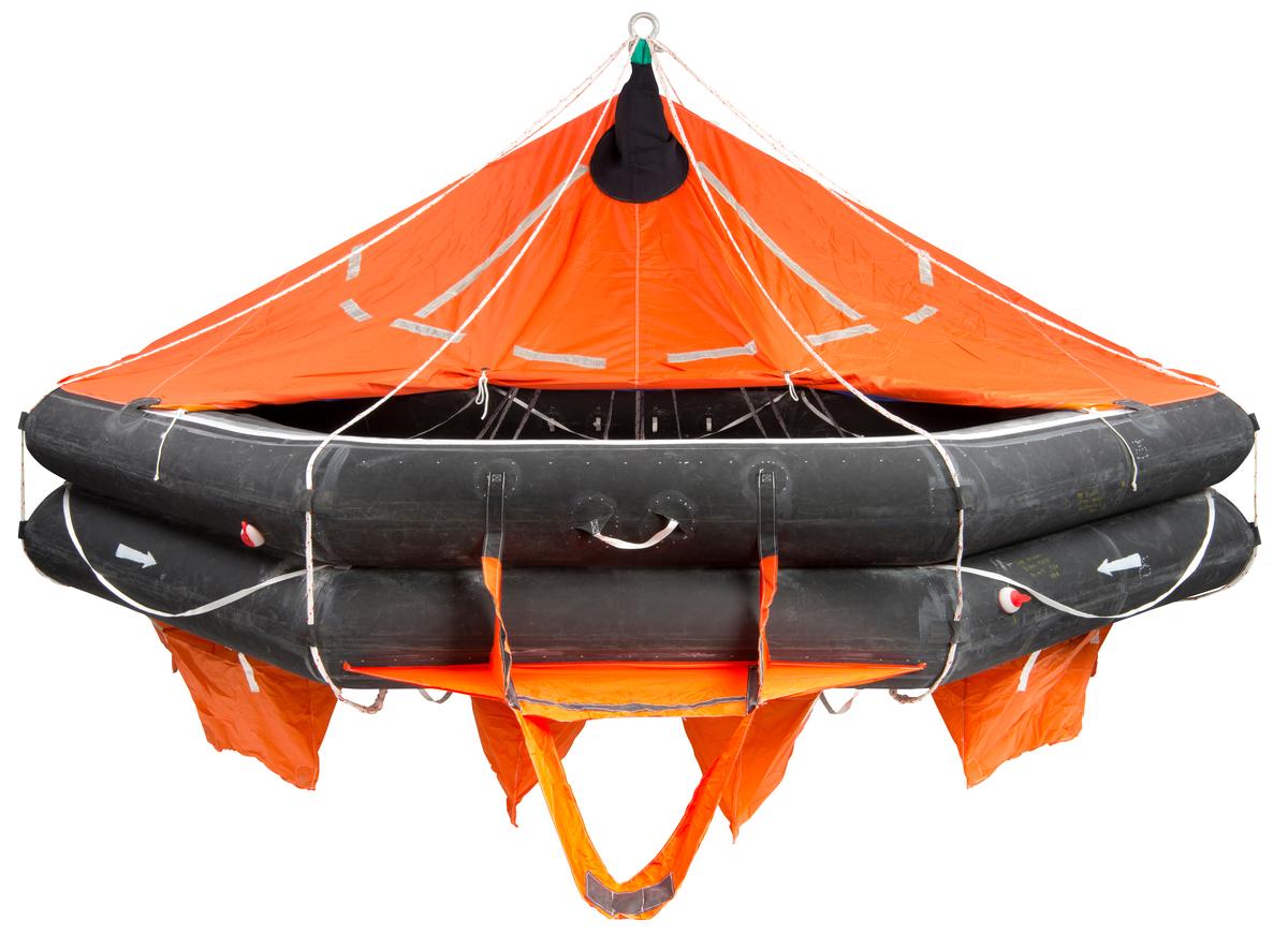 Liferaft - VIKING, 25DKF+, davit launched (25 pers.)