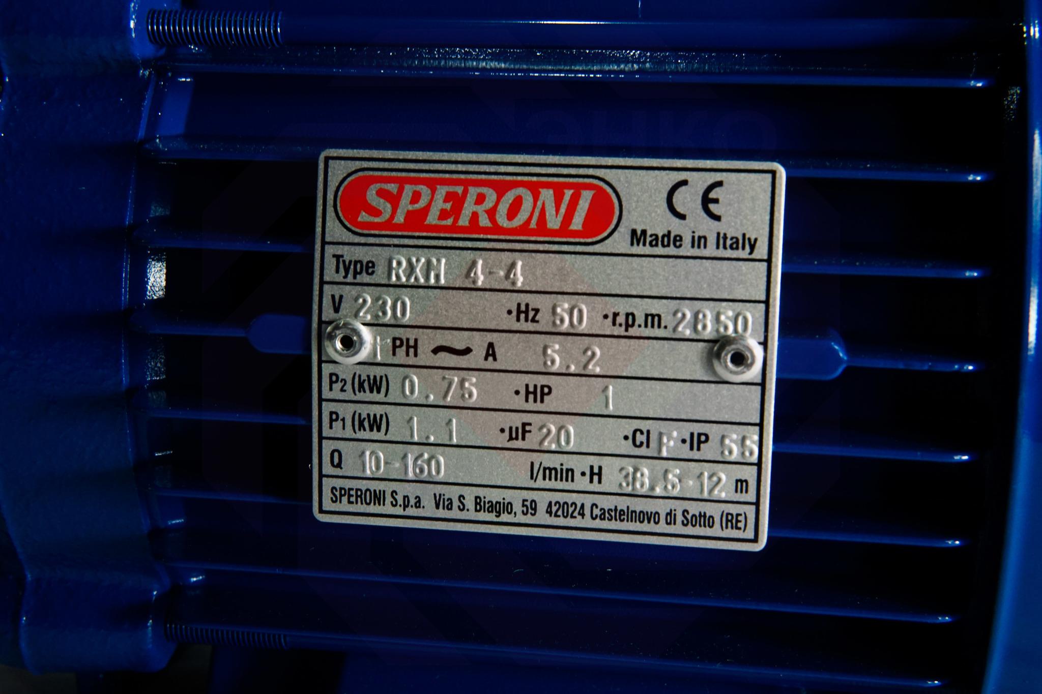 Насос повысительный SPERONI RXM 4-4