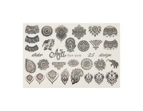 Фольга для дизайна ногтей серебро 25 купить за 120руб