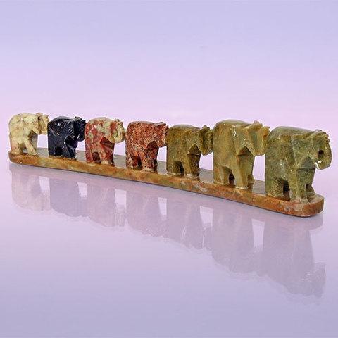 Восточный сувенир  Семь слонов