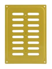 Решетка с заслонкой (заглушкой) 165х240 мм Золото