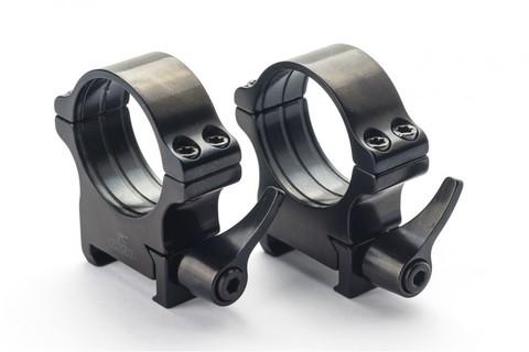 Кольца Rusan быстросъемные Weaver на 25,4мм H14 рычажные (050-25,4-14-R)