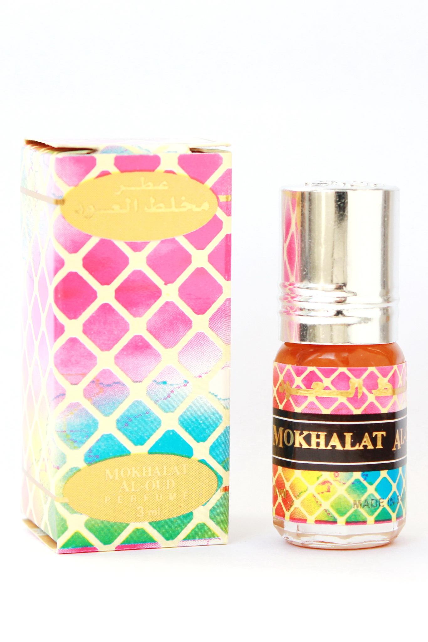 Mokhalat Al Oud Мукхаллат Аль Уд 3мл арабские масляные духи от Аль Рехаб Al Rehab