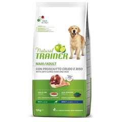 Сухой корм Trainer Natural Maxi with dry-cured ham and rice