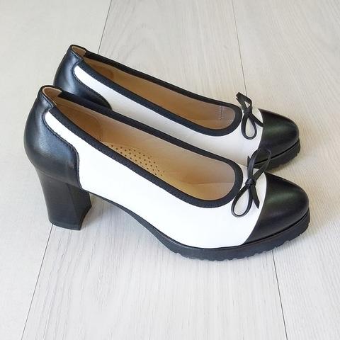 Женские туфли на удобной колодке