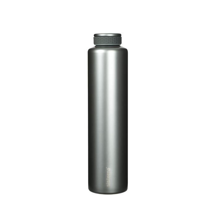 """Термобутылка Sistema """"Hydrate"""" 600 мл, цвет Светло-серый"""