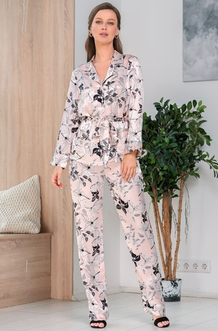 Шелковая пижама-тройка Mia Amore Флавия (70% нат.шелк)