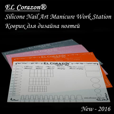 El Corazon Коврик для дизайна 04 розовый 30x40см