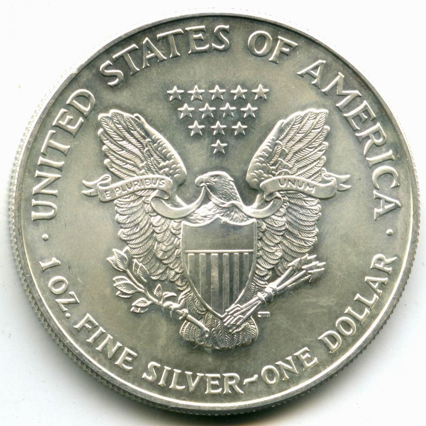 1 доллар 2002 год США AU