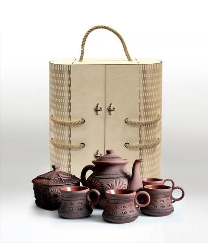 """Набор """"Чайная церемония"""" (керамика)"""