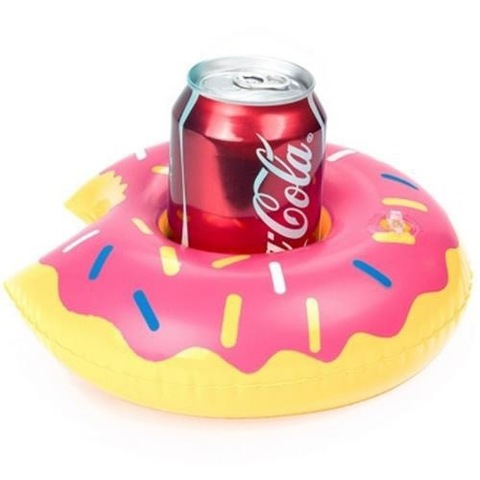 Надувные подставки под напитки Пончик
