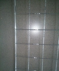 Сетка 2000 х 1000 (7*3) ячейка 50х50, хром