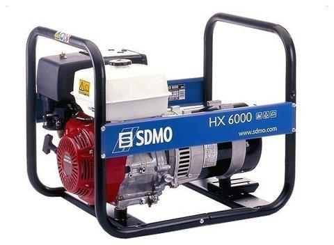 Кожух для бензиновой электростанции SDMO HX6000 S