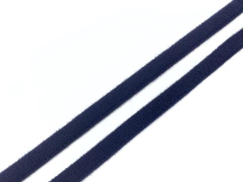 Ворсовая тесьма под каркасы темно-синяя (цв. 061)