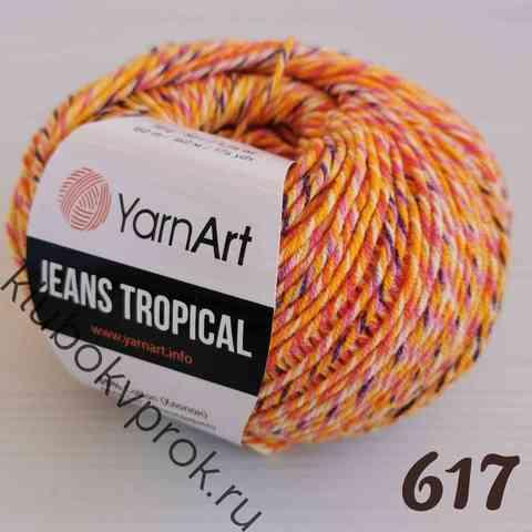 YARNART JEANS TROPICAL 617,