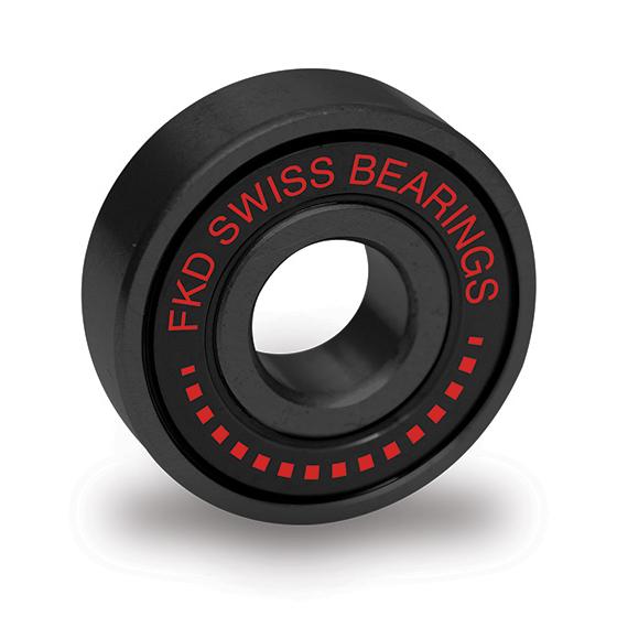Подшипники для скейта FKD Swiss (Black)