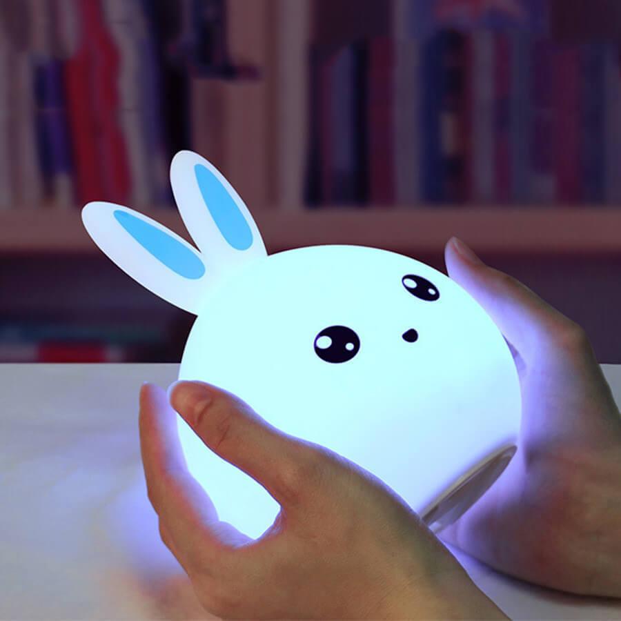 Светильник-ночник Зверушка настольный с USB