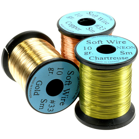 "UNI Мягкая проволока Soft Wire NEON Small #33 .008"""