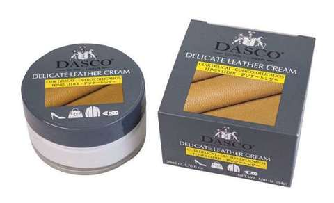 Крем для обуви, DELICATE LEATHER Cream, стекло, 50мл. (бесцветный)