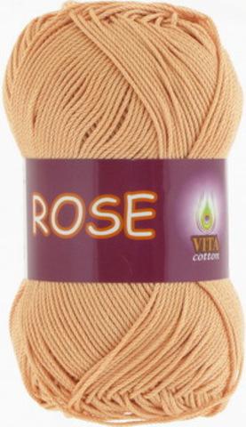 Пряжа Rose (Vita cotton) 4253 Крем-брюле