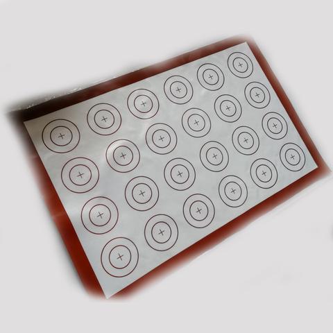 Коврик с двойной разметкой силиконовый, 60х40 см